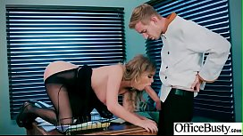Hard Bang On Cam In Office With Big Round Tits Girl Alexis Adams video
