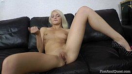 FIRSTANALQUEST.COM - YOUNG ANAL SCENE WITH SLUTTY PETITE BLONDE TEEN OLIVIA
