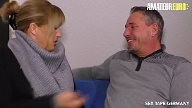AMATEUR EURO - German Lady Debby Fucks In Her Very First Porn Tape