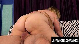 Jeffs Models - Busty Older BBW Winter Wolf Cowgirl Compilation Part 3