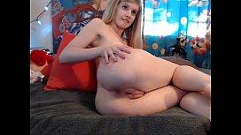 Blond teen plays with herself camgi orevercom