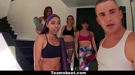TeamSkeet - Compilation of Sexy Girls Working Out and Getting Fucked - incest impregnation