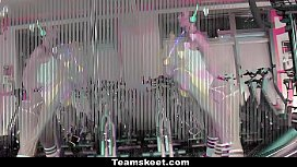 TeamSkeet - Compilation of Sexy Girls Working Out and Getting Fucked