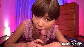 JAVHUB Sensual sex with Japanese babe Nanako Takeuchi
