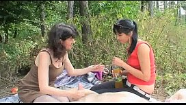 Outdoor Mature Couple With Horny Teen image