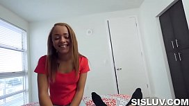 Stepsis Catches Him Jerking Off