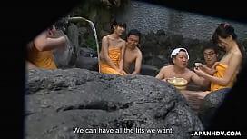 Japanese vixens, Shiori, Nozomi and Yuuko, uncensored
