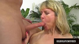 Royal Fuck Session with Insatiable British Granny Jamie Foster
