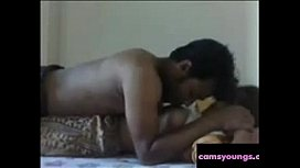 Cuddling with a Hot Indian MILF