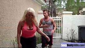 Hard Intercorse Action With Big Tits Slut Mommy alura jenson clip