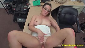 Busty French Babe Stuffed By American Cock