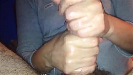 Getting a Slippery HandJob from a Cheating Wife