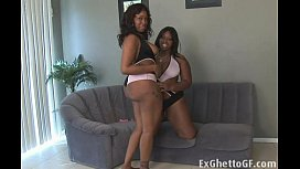 Two chubby black lesbian whores