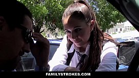 FamilyStrokes - Step-Daughter Lives to Please Her Daddy xxx image