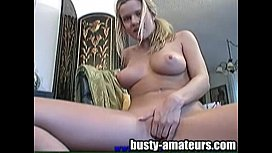 Lisa toying her lovely pussy