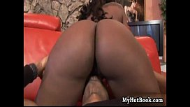 Horny black MILF Kelly Starr has a grill over her