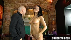 Stripper paid to Suck Cock