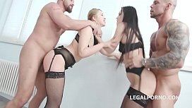 Gapes'_n'_Roses - Angie Moon Vs Selvaggia Balls Deep Anal
