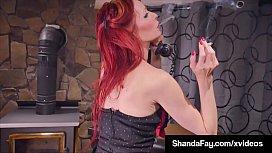 Smoking &amp_ Squirting Fans Enjoy As Housewife ShandaFay Fucks!