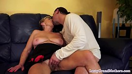Grandma getting pussy screwed by hard dick