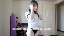 Kigurumi 4 Layers Zentai GasMask in BoX xxx video
