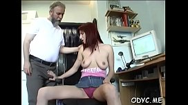 Slutty princess Jessica with great natural tits enjoys a big dinky