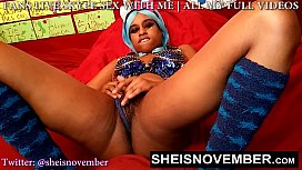 Msnovember Hairy Bush Has To Lick While I Rub My Pussy Til I Orgasm &amp_ Squirt