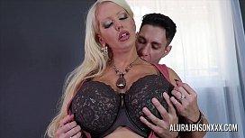 Big tit cougar Alura Jenson loves fucking younger men
