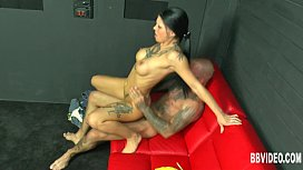 Tattooed german honey take cock