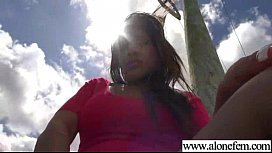 Lovely Girl Play On Camera With Toys Till Climax clip-11