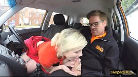 Misha MayFair gets banged by instructor