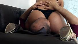 Big Bubble Butt FACE SMASHING