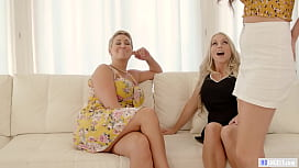 Busty Blonde MILF Attracted To Mature Friend'_s Step Daughter - Christie Stevens, Athena Faris, Ryan Keely