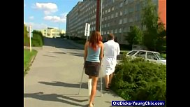 Young redhead babe comes to hospital