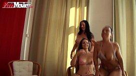 FUN MOVIES German Amateur Lesbian Threesome