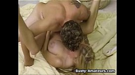 Busty Mary Foxxx fucking on bed