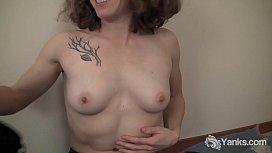 Yanks Tattooed Nina Masturbates