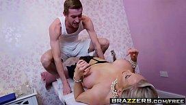 Dirty Masseur Massaging Mrs Moore scene starring Rebecca Moore Danny D