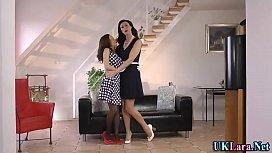 Mature heeled brit rubs