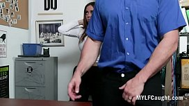 MILF Can'_t Quit Stealing &amp_ Gets Caught- Havana Bleu