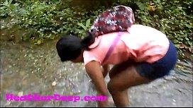 Heather Deep gets creampie on quad in river jungle Trailer zoosextv