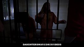 DaughterSwap - StepDaughter StepFather Duo (Ava Parker) and (Summer Day) Fuck In Prison Cell