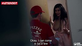 LETSDOEIT - Pizza Delivery Guy Gets Lucky With His Favorite Pornstar