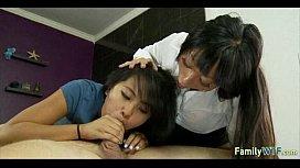 mother teaching daughter 396