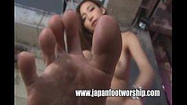 Foot fetish Japan Boot Fetish