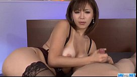 Serious POV oral scenes with superb& Mai Kuroki&