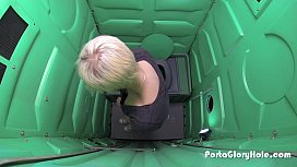 Porta Gloryhole boyish blonde sucks strangers cocks miss missa porn