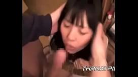 0018 Japanese Schoolgirl Gets Cum Shoved in her Throat
