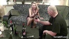 Blonde MILF d. with wine more at jungleofsex com