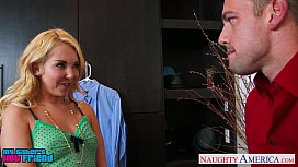 Sexy blonde Aaliyah Love gets nailed